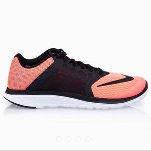 Nike FS Lite Run 3 Lave Glow Black Sneakers Shoes
